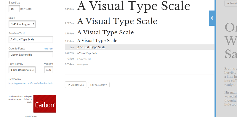typescale