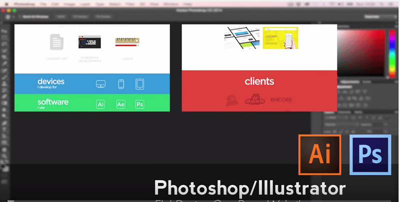 FireShot Screen Capture #204 - 'Photoshop_Illustrator Tutorial - Flat Design One Page Website - YouTube' - www_youtube_com_watch_v=I2kNf7jnQxU