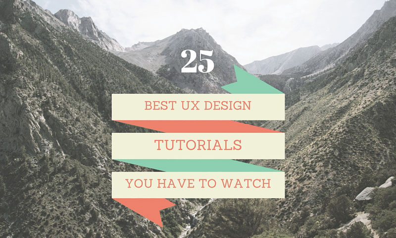 25 Insightful User Experience Design Guides