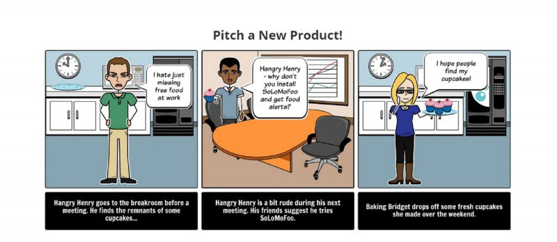 communicate and brainstorm your ideas for coming up with storyboards online with StoryboardThat