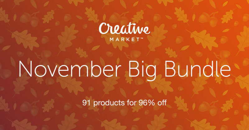 Creative Market November Big Bundle