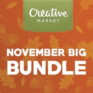 Creative Market November Bundle