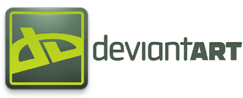 Artist or not, there's no mistaking the Deviant Art logo