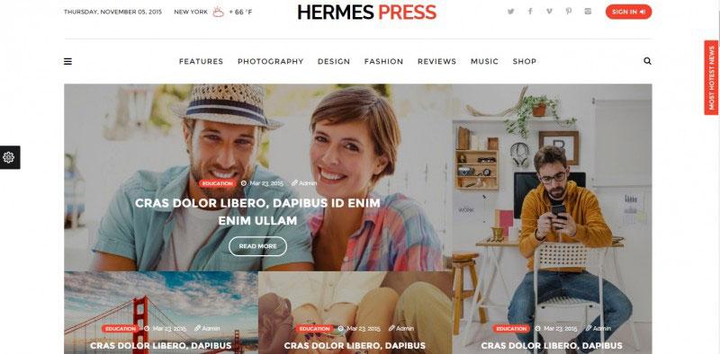 hermes press