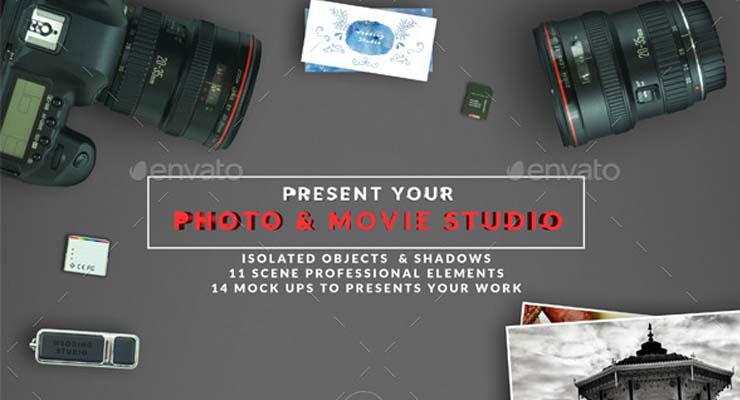 DSLR Photo / Video Mock Up Creator