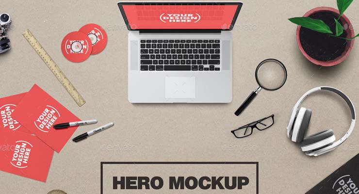 Artist Hero Mockup Generator