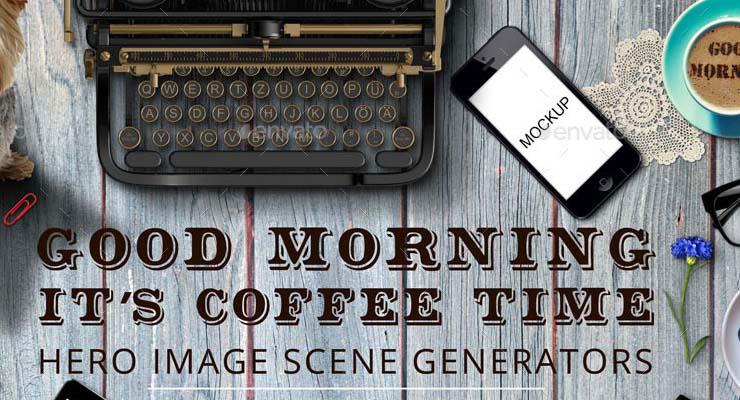 Good Morning Hero Image Scene Generator