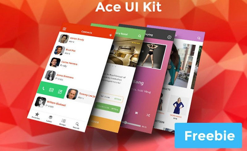 Ace iOS8 Mobile User Interface Kit