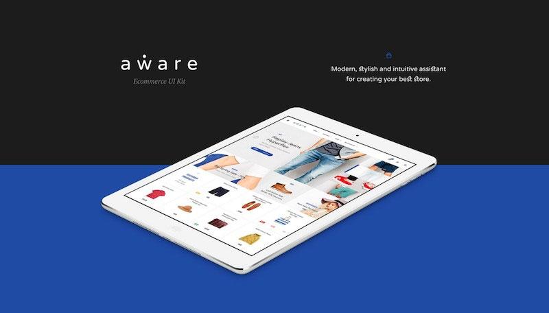 Aware eCommerce UI Kit