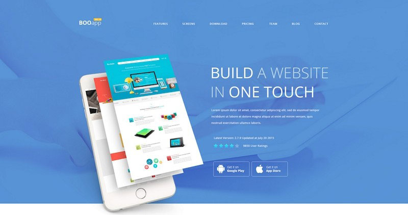 BOO - Multipurpose PSD Template