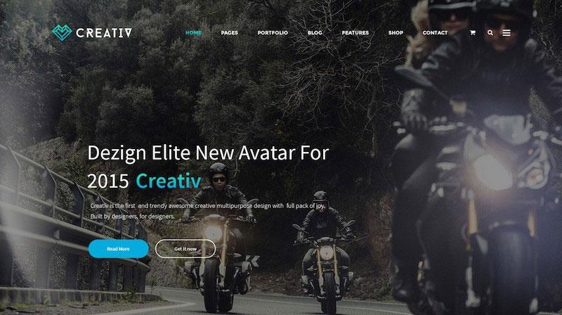 Creativ - Multi_Concept Business PSD Template