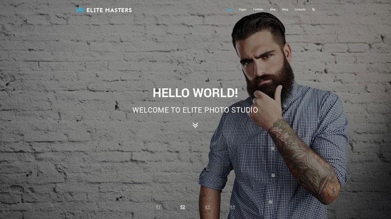 EliteMasters - Multi-Purpose PSD Template