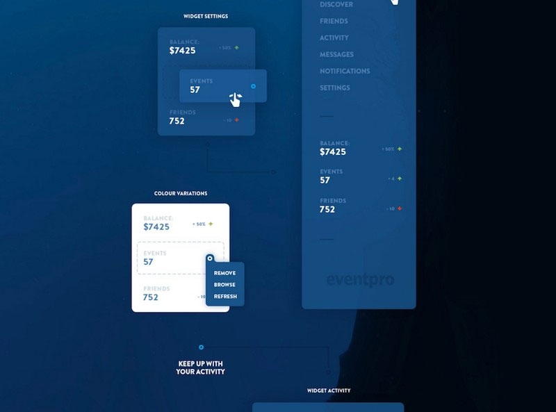 EventPro - Web and Mobile UI Kit