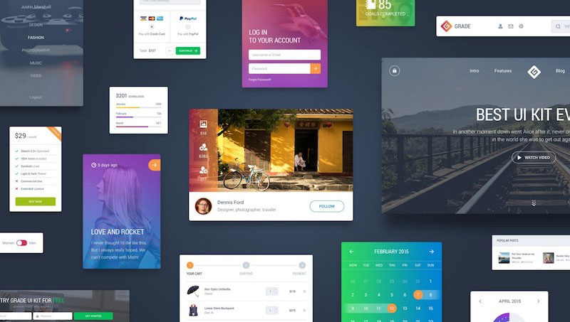 Grade User Interface PSD Kit