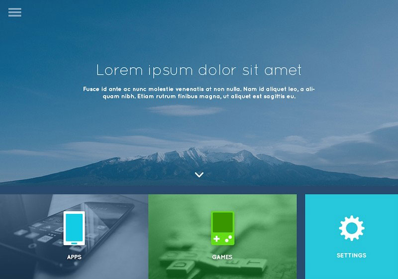 Lanna 4 Theme Photoshop UI Kit