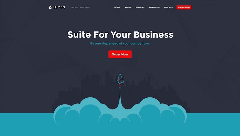 Lumen - Multi-purpose PSD Template