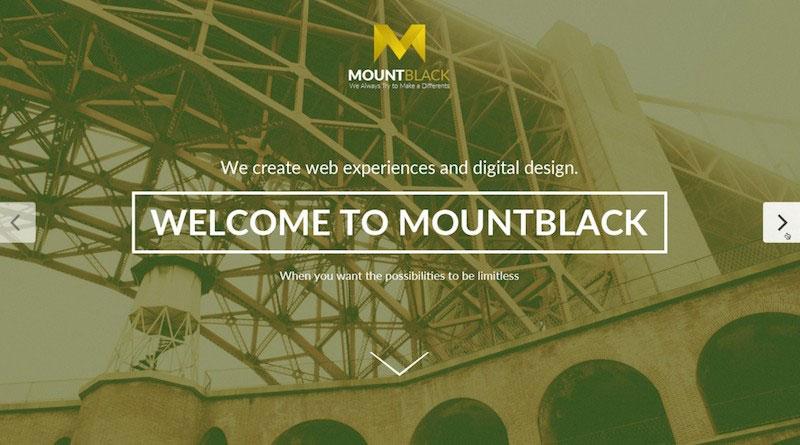 MOUNTBLACK - Multipurpose PSD Template