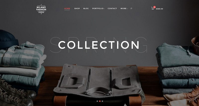 Milano - Ecommerce PSD Template