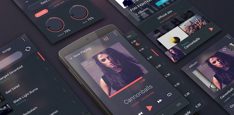 Music Player UI Kit for Android