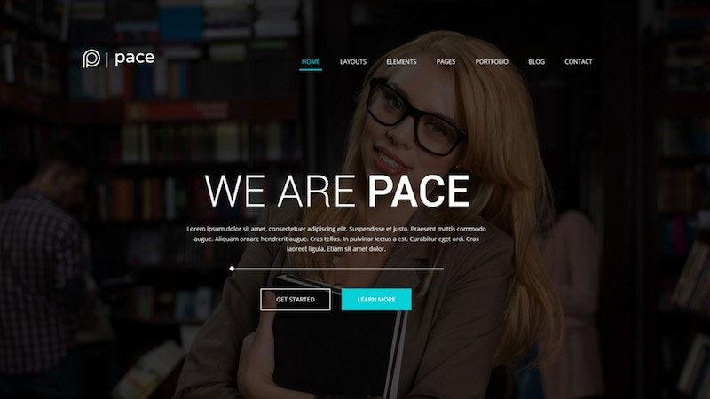 Pace – Multi-Purpose Business PSD Template