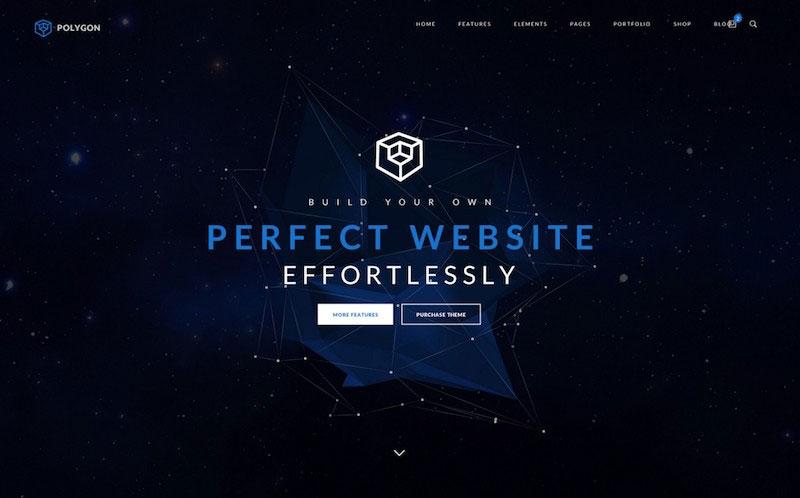 Polygon- Supreme Multi-purpose PSD Template