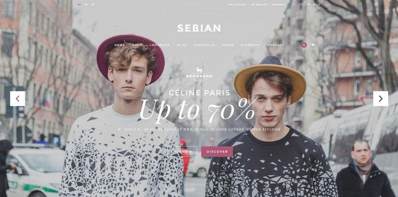 SEBIAN - Multi Purpose eCommerce PSD Template