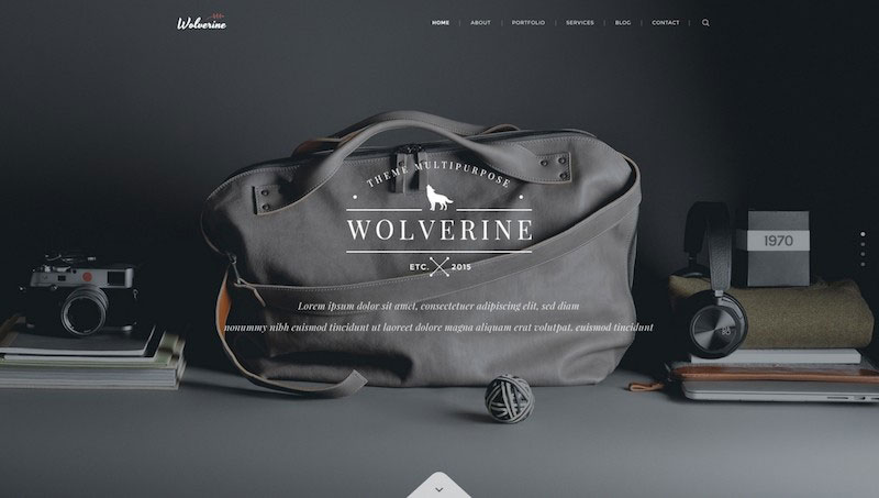 Wolverine - Multipurpose PSD Template