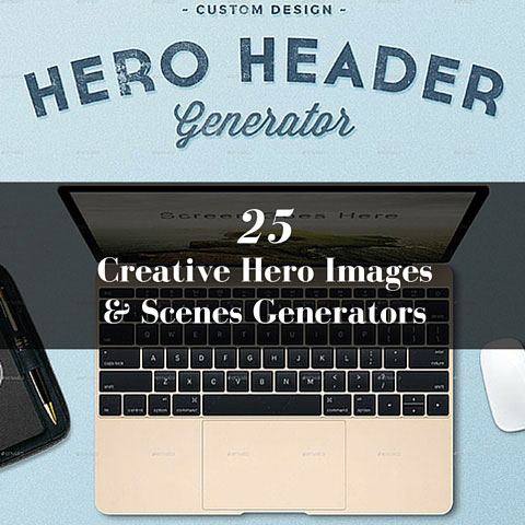25 Creative Hero Images and Scenes Generators