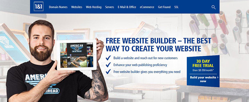 where can i build a free website