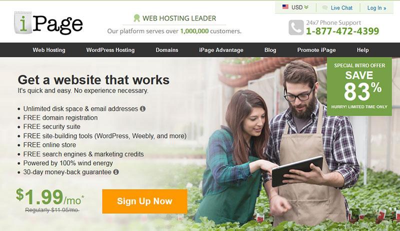 ipage-webiste-builder