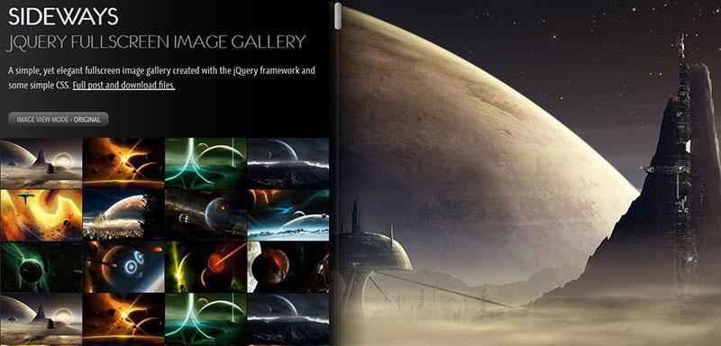 sideways-image-jquery-gallery