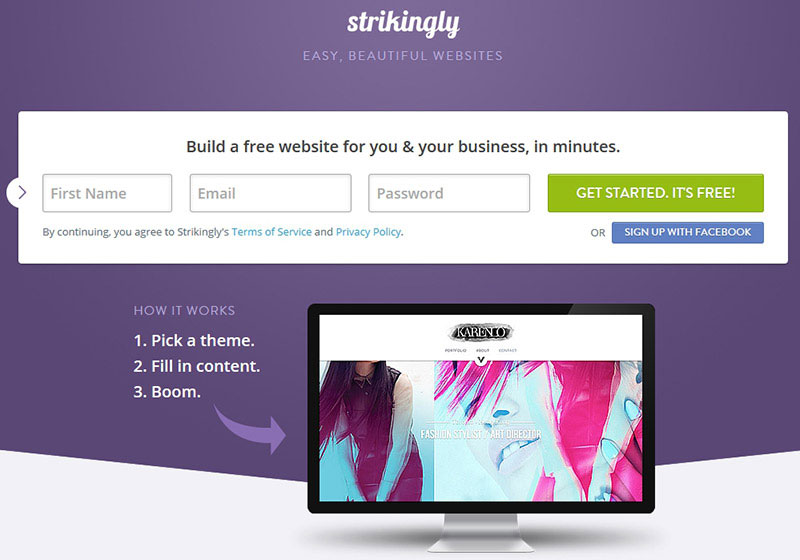 strikingly-website-builder