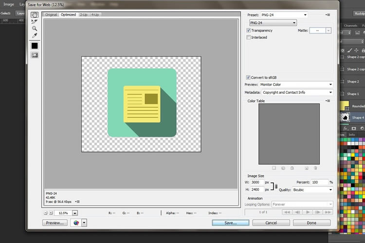 How to Create a Flat Navigation Icon Set in Adobe Photoshop