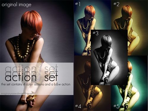 Set-1 actions to enhance your photos