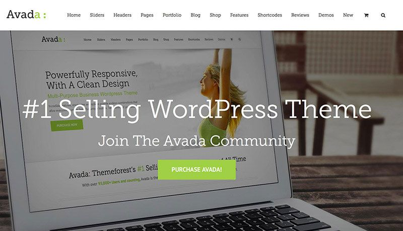 AVADA is currently the best selling theme on ThemeForest with X theme quickly gaining on.