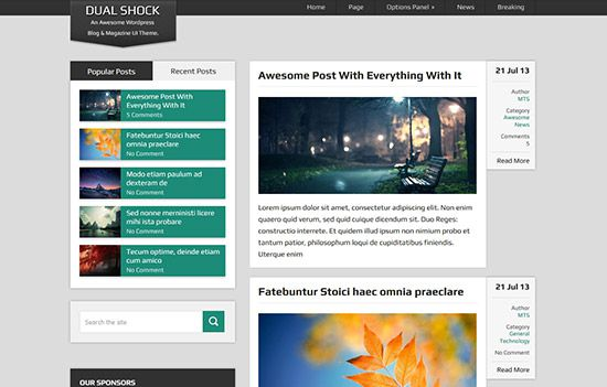dualshock-best-free-wordpress-themes