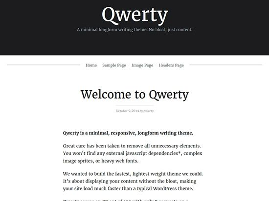 querty-best-free-wordpress-themes