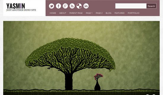 Yasmin free wordpress theme