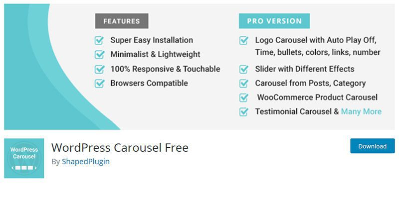 WordPress Carousel Free