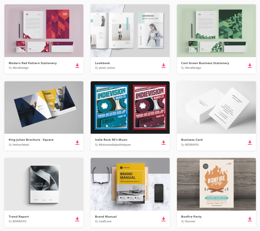 By Joining Envato Elements You Gain Access To Plenty Of Print Templates, As  Well As Many Other Useful Design Elements. All Of This Is Available For A  Single ...  Resume Design Inspiration