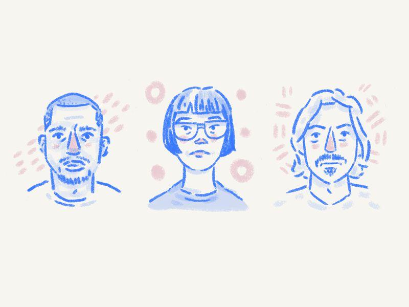 Icon Design Trend Hand-Drawn