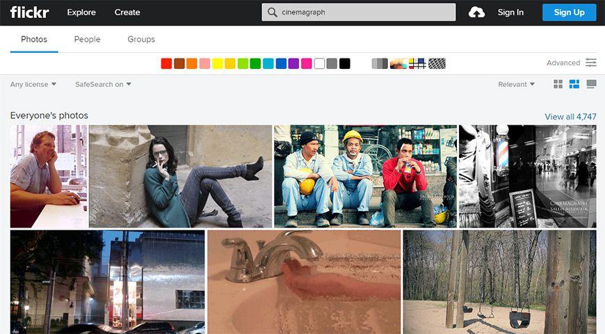 flickr cinemagraph