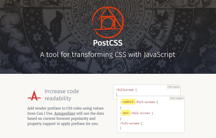 postcss tool