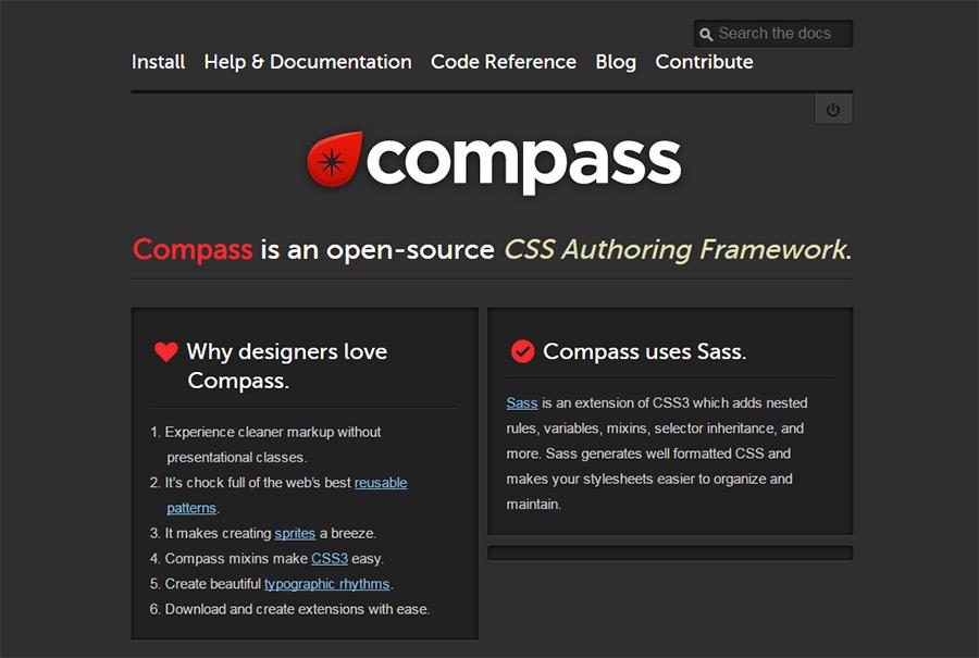 compass scss app