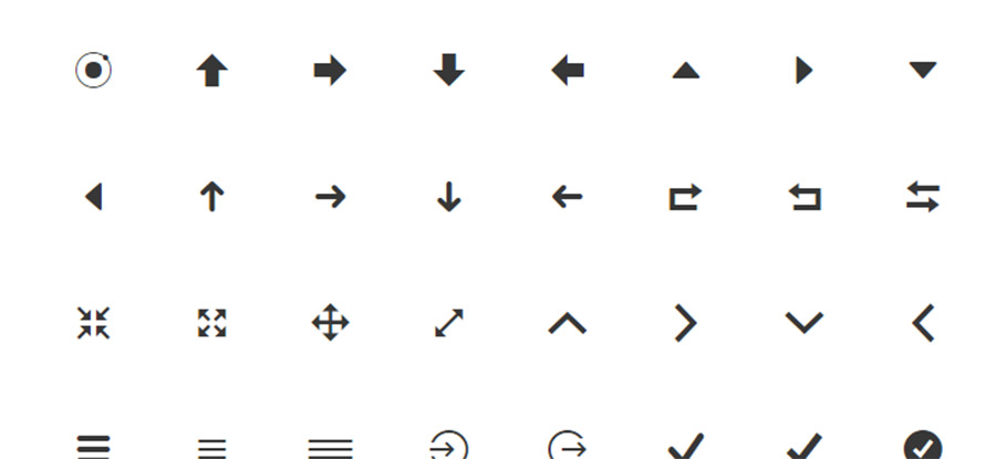 ionicons webfont - icon fonts