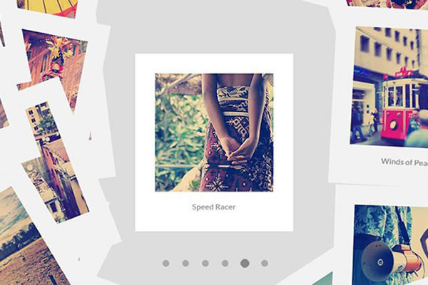 Bootstrap image gallery with responsive grid.