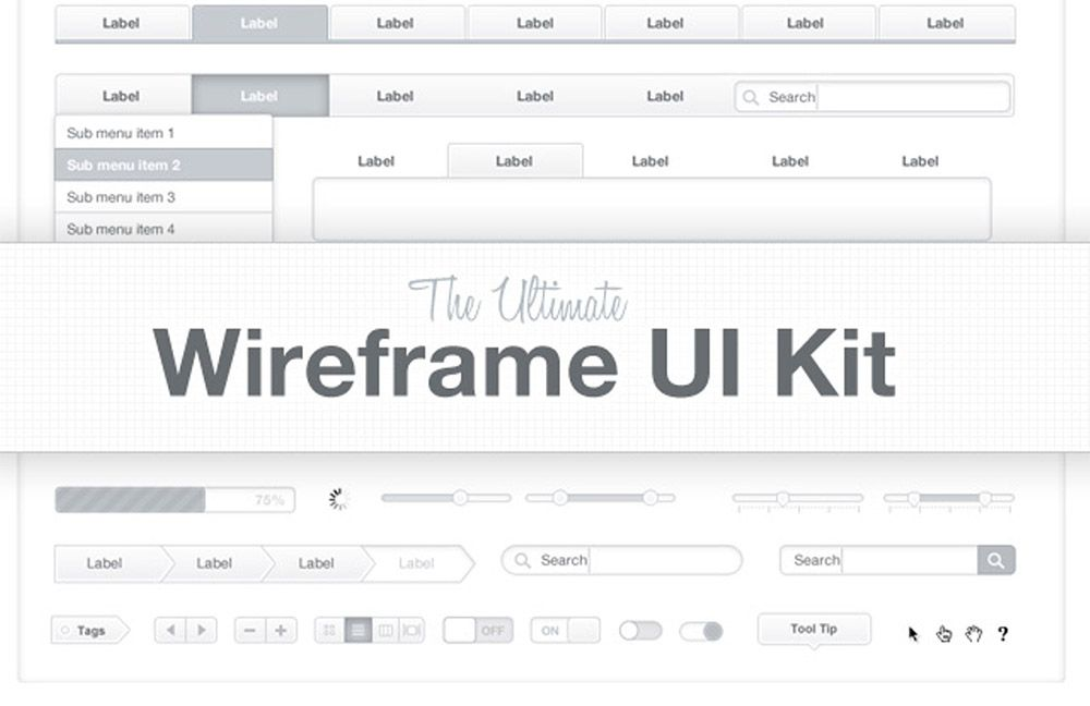 ultimate wireframing kit