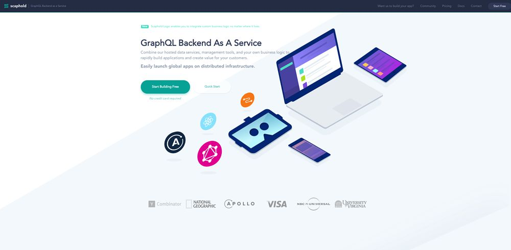 drop shadow design trend web Scaphold