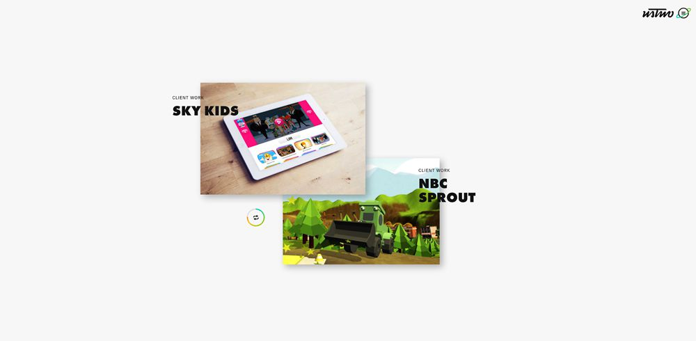 drop shadow design trend web Ustwo