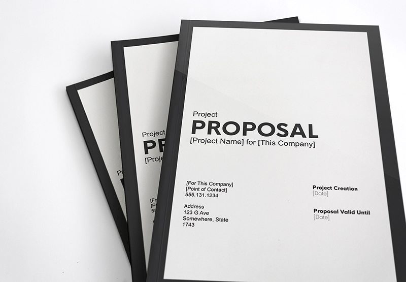 Proposal Template By Darian Rosebrook